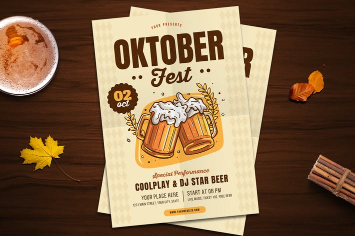 Thumbnail for Oktoberfest Flyer 02