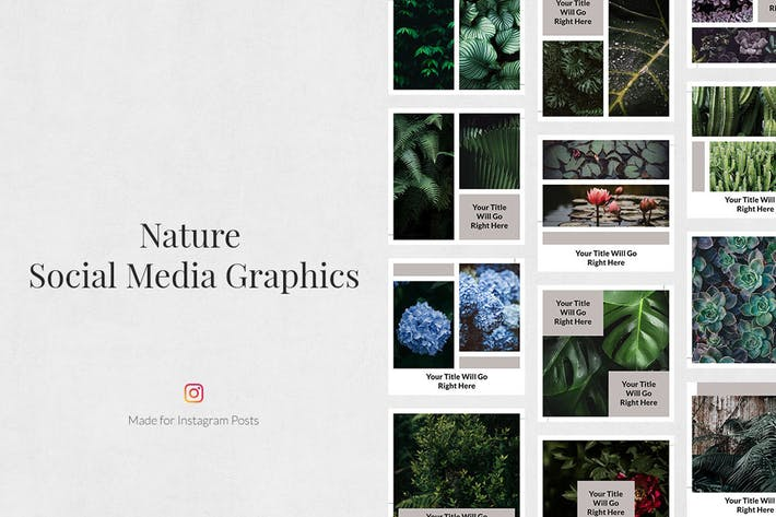Thumbnail for Nature Instagram Posts