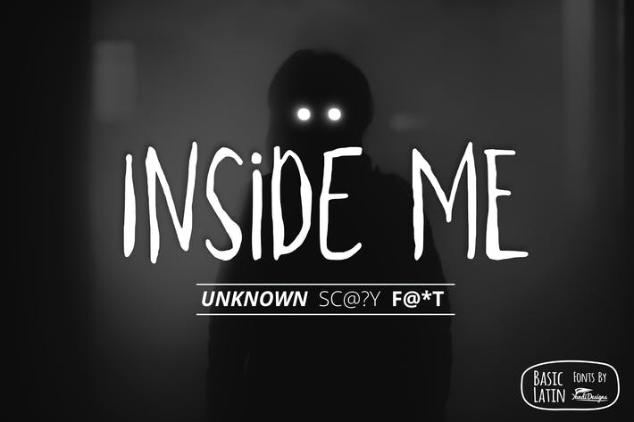 Thumbnail for Inside Me Font