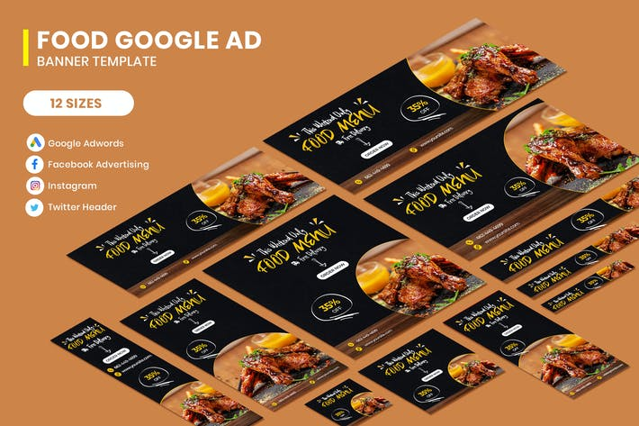 Thumbnail for Food Banners Ad