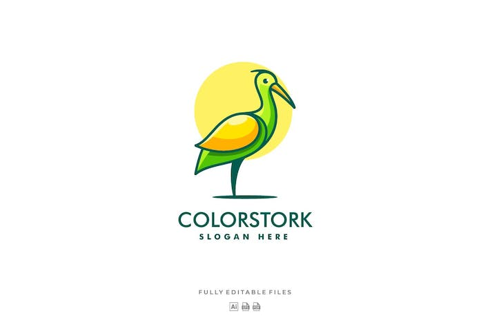 Thumbnail for Stork Color Line Logo