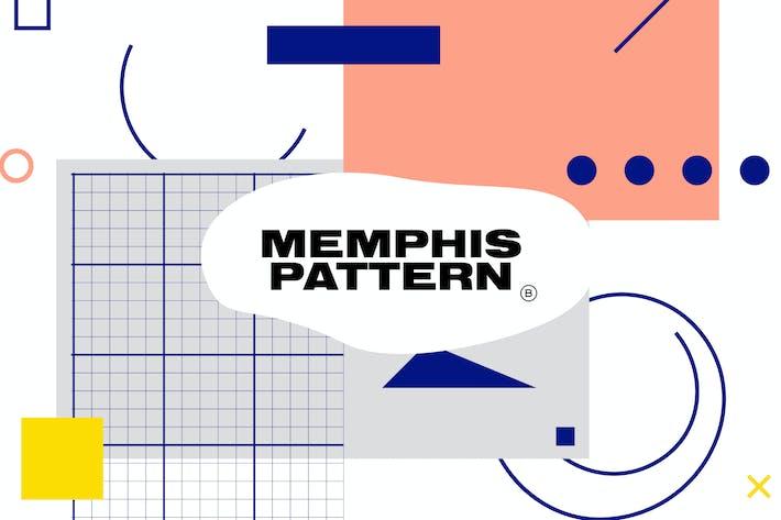 Thumbnail for Minimalist Memphis Pattern