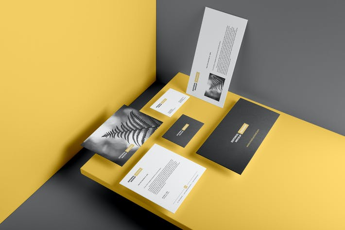 Thumbnail for Stationery Branding Mockup Vol. 2