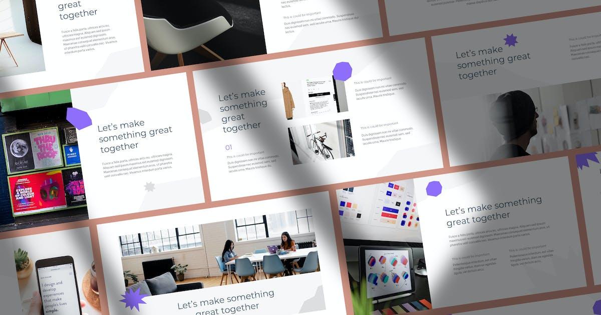 Download Widz - Digital Tech Agency Keynote by Slidehack