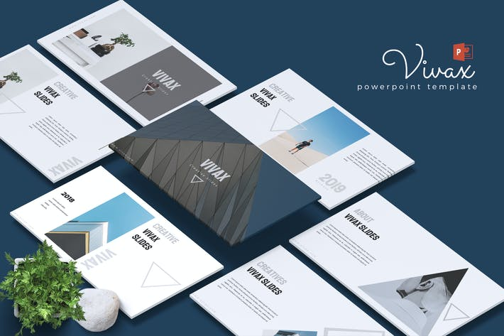 Thumbnail for VIVAX - Creative Powerpoint Template