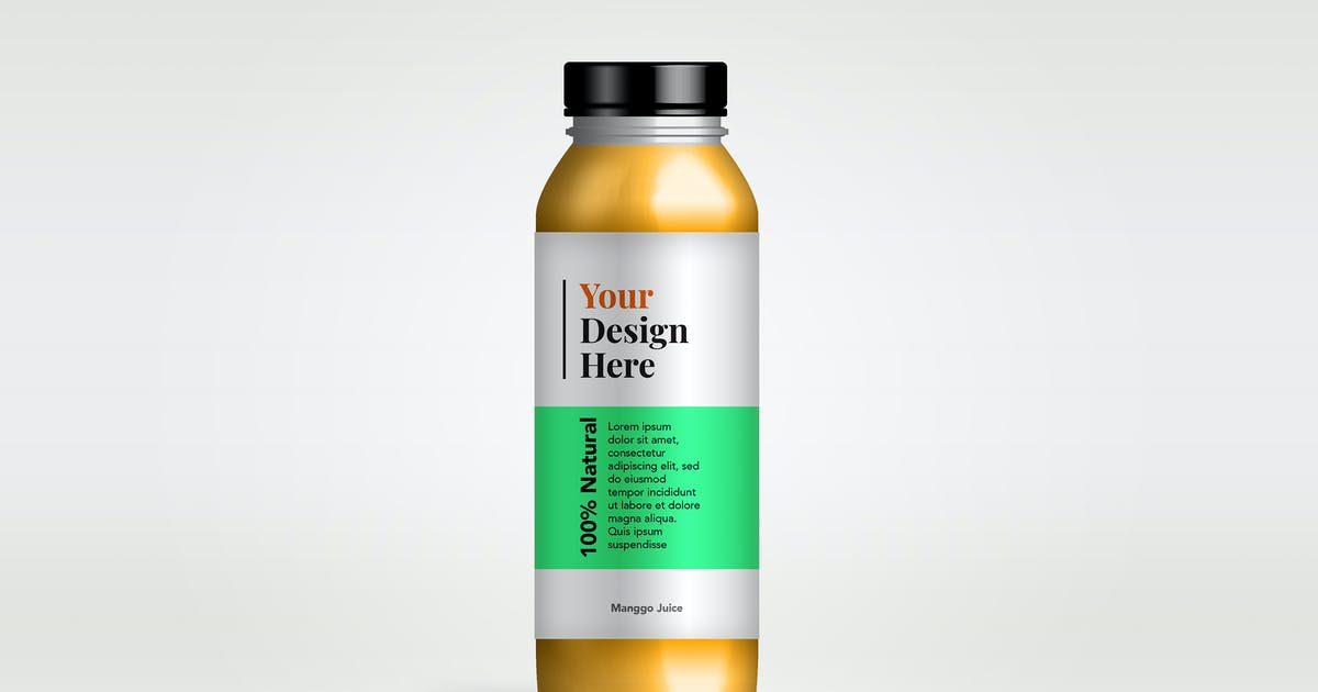 Download YDM Bottle Glass Mockup by MartypeCo