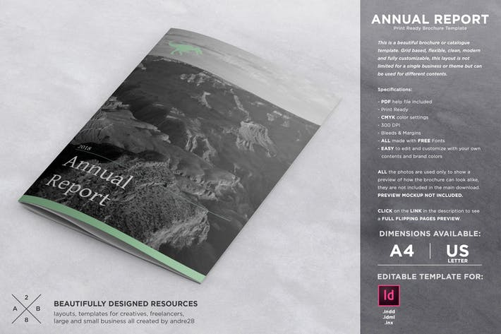 Cover Image For Annual Report Template