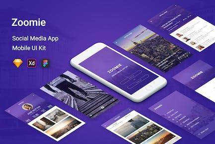 Zoomie - Social Media Mobile APP