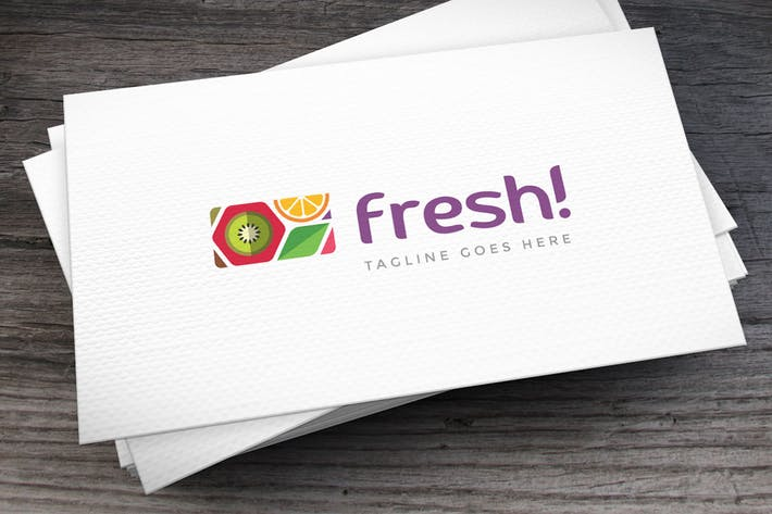 Cover Image For Freshness Pattern Logo Template