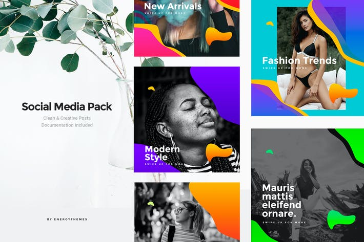 Thumbnail for Social Media Banners - Vol76