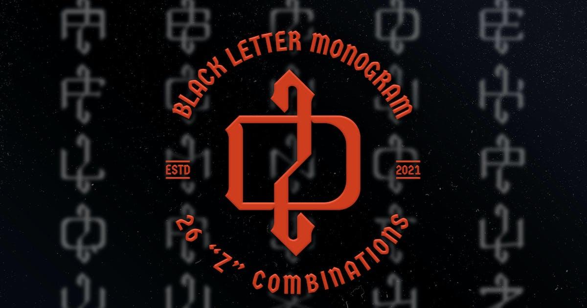 Download Z Black Letter Monogram Logo Vol.3 by Farhan_Haikal