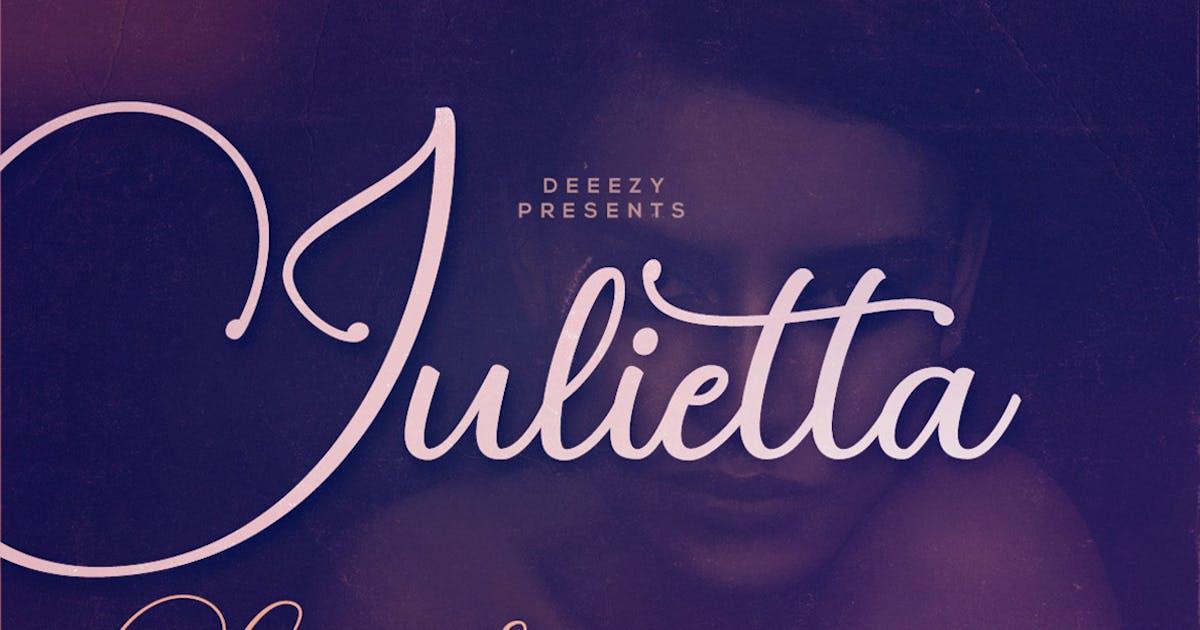 Download Julietta Script Font by cruzine