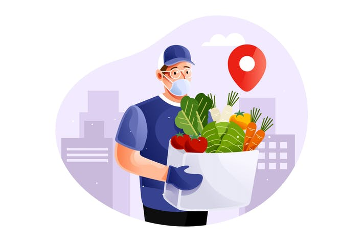 Thumbnail for Healthy food delivery service in pandemic