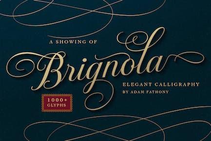 Бригнола Элегантная каллиграфия