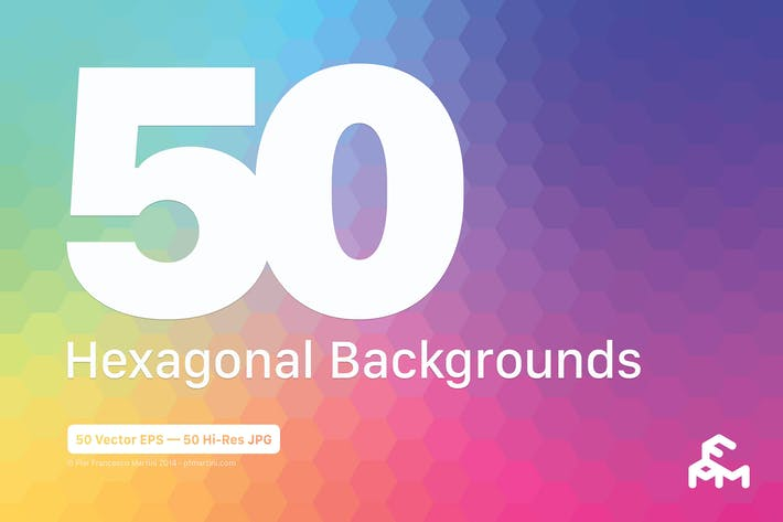 Thumbnail for 50 Hexagonal Backgrounds