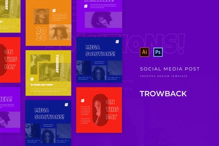 Throwback Social Media Feed