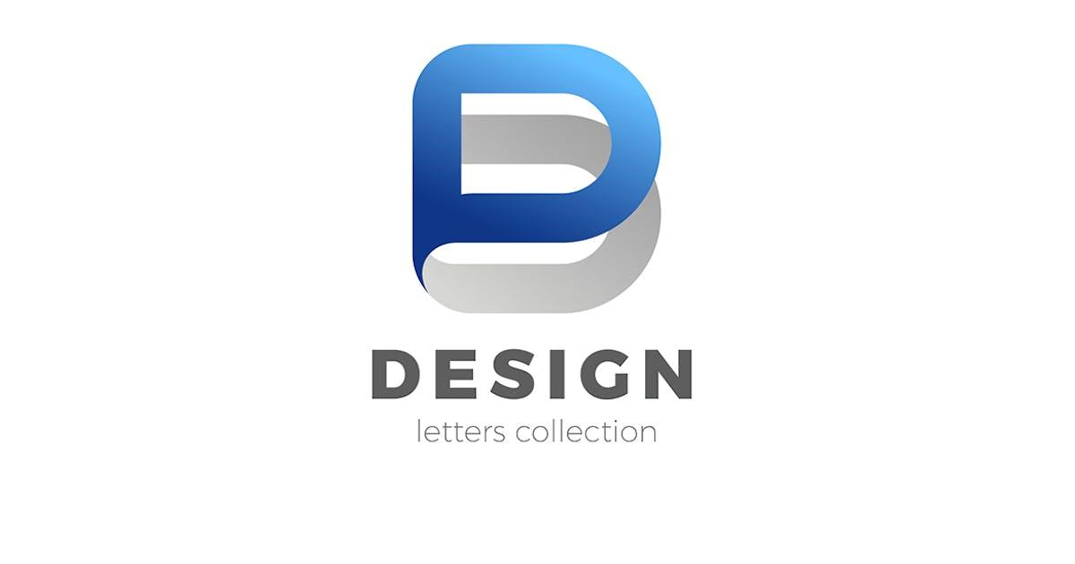 Download Letter D Logo design 3D Ribbon style by Sentavio