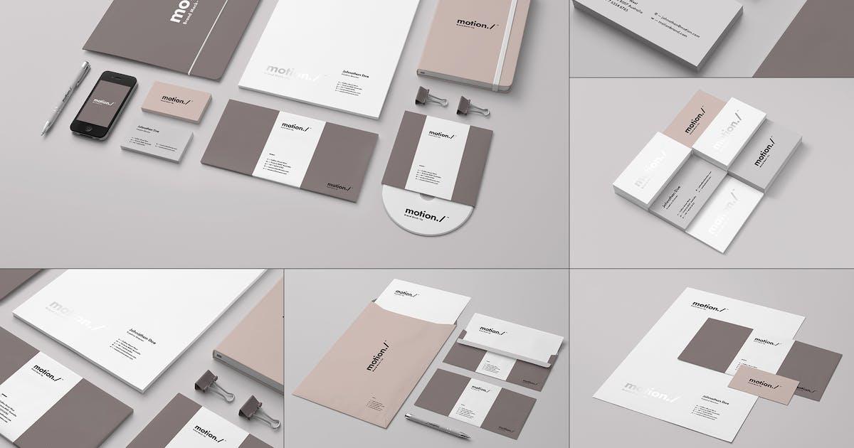 Branding / Identity Mock-up 6 by yogurt86