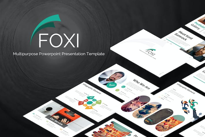 Thumbnail for Foxi - Keynote Template
