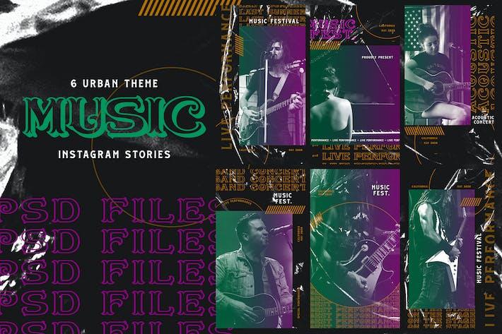 Thumbnail for Urban Theme - Music Instagram Stories
