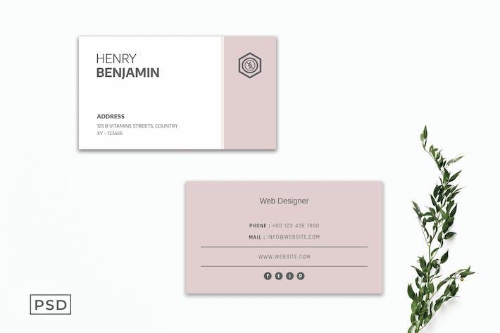 Creative Business Card Template V2