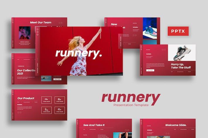 Runnery - Sport Presentation Template*