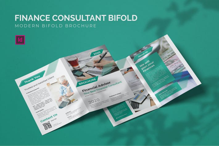 Consultant en finance - Brochure bifold
