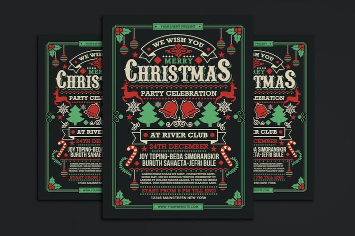 Thumbnail for Fête de Noël dépliant