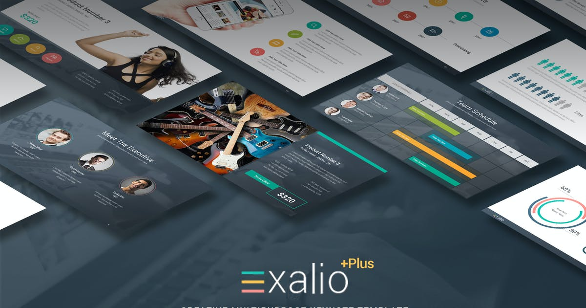 Download Exalio Plus - Multipurpose Keynote Template by Unknow