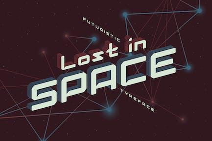 Perdu dans l'espace.