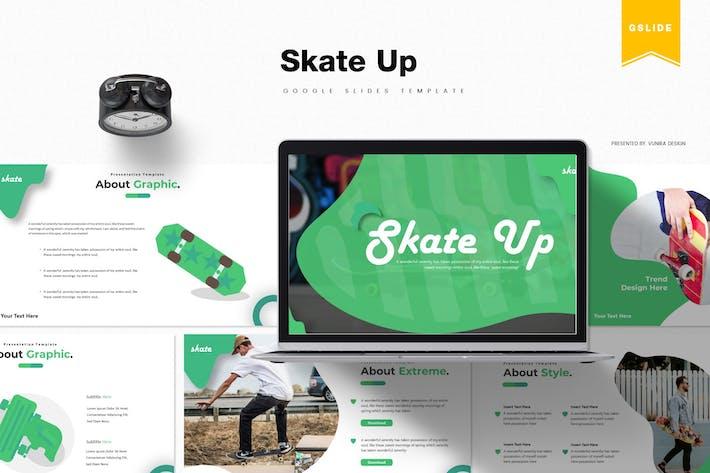 Thumbnail for Скейт вверх | Шаблон слайдов Google