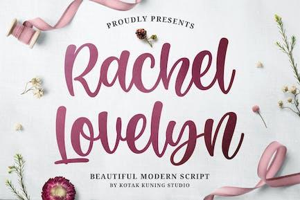 Rachel Lovelyn - Beautiful Script Font