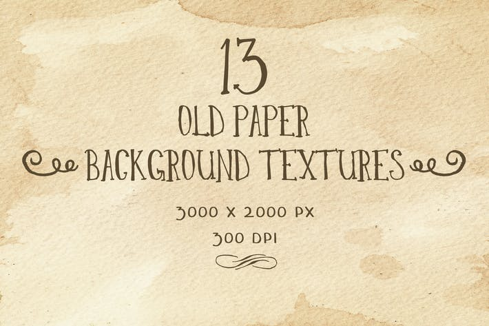 Thumbnail for Set of 13 old paper backgrounds