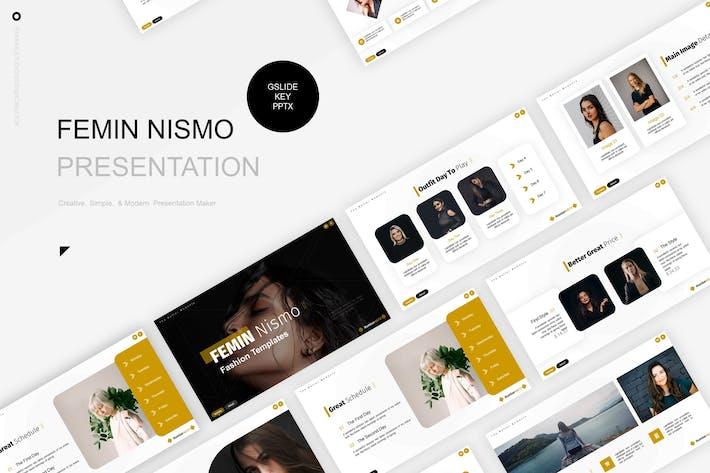 Thumbnail for Femin Nismo Presentation Template