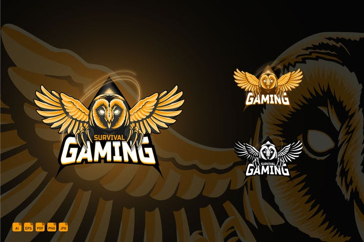 Esports Gaming Logotype - Survival Gaming