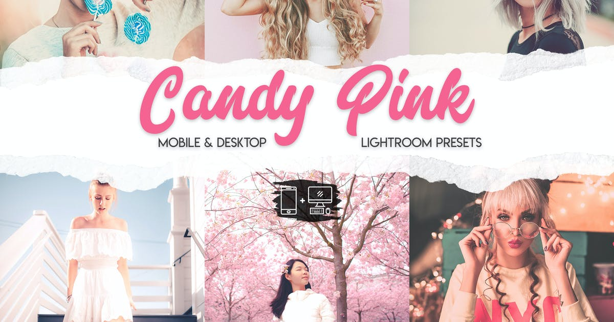 Download Candy Pink Lightroom Presets by ClauGabriel