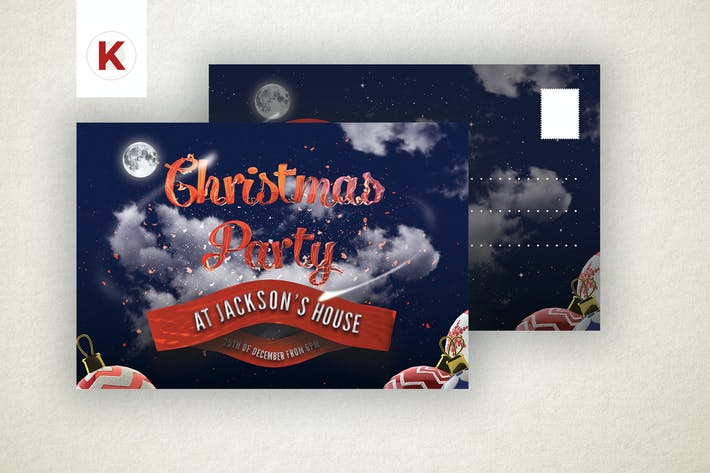 Thumbnail for Christmas Party Invitation