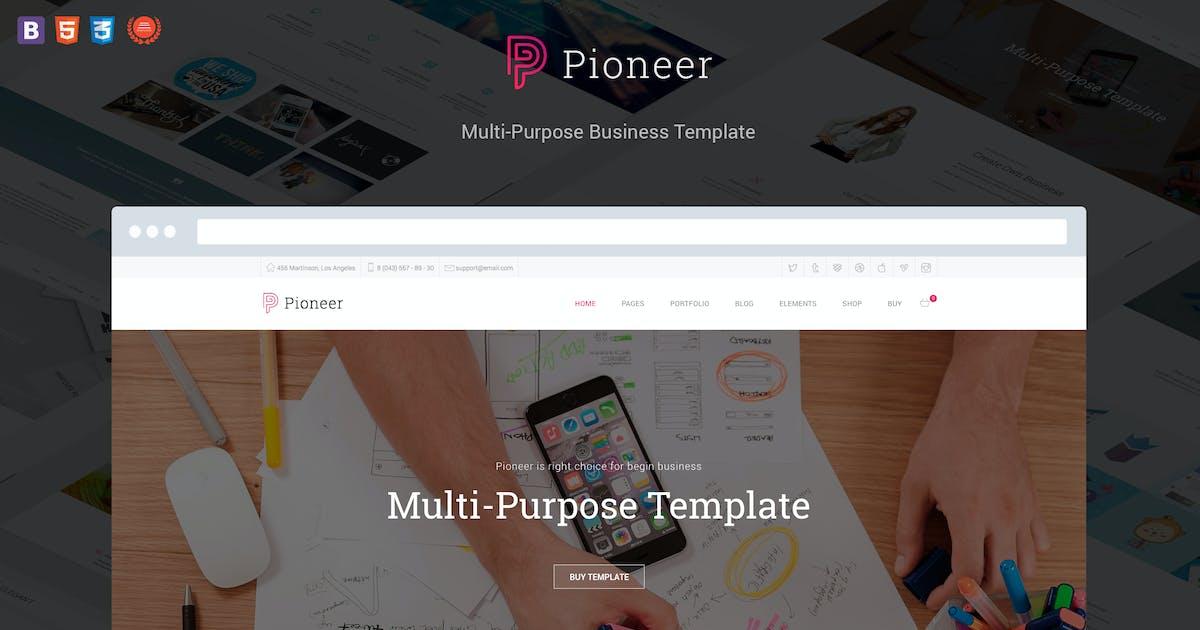 Download Pioneer - Multi-Purpose HTML 5 Corporate Template by DankovThemes