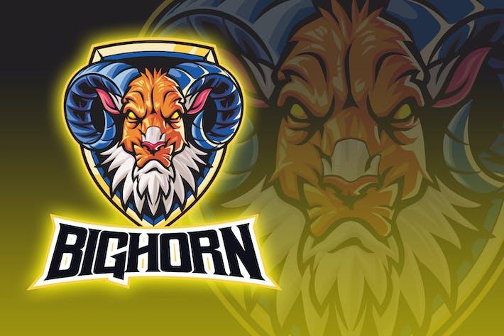 Thumbnail for Big Horn Evil Goat Esport Logo