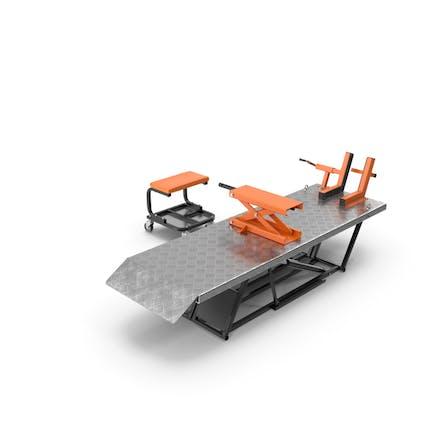 Motorrad-Hebeadapter-Set