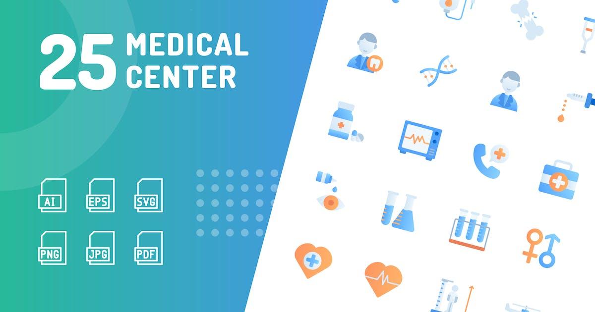 Download Medical Center Flat Icons by kerismaker