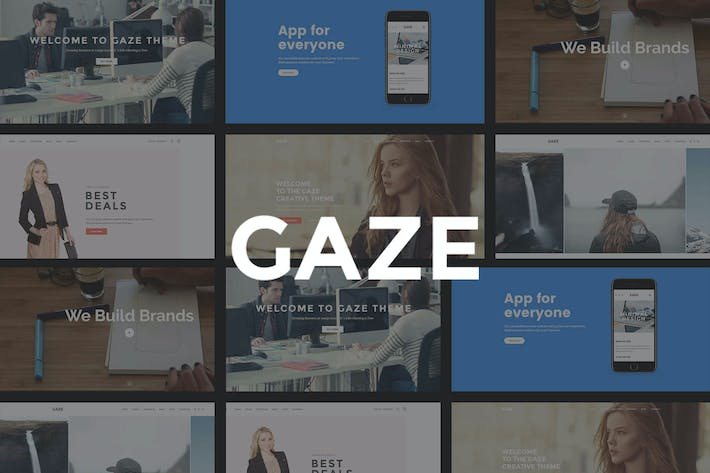 Thumbnail for Gaze | Responsive Multipurpose WordPress Theme
