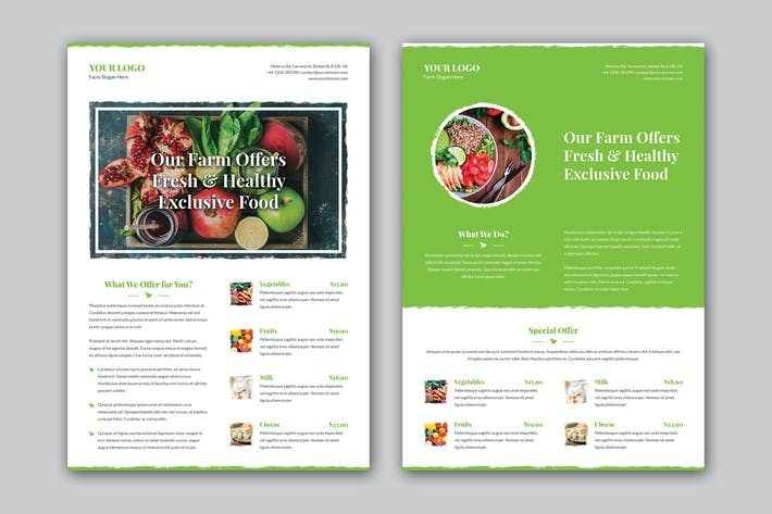 Thumbnail for Flyer – Organic Food