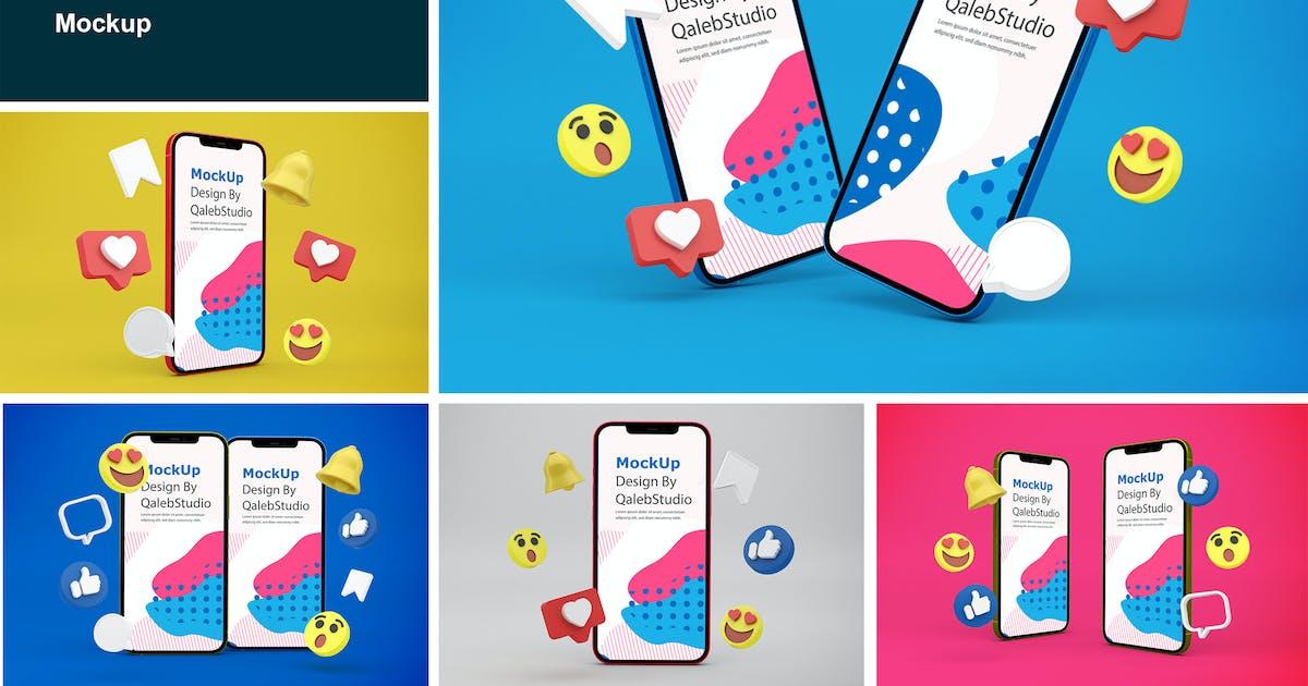 Download Social Media & iPhone by QalebStudio