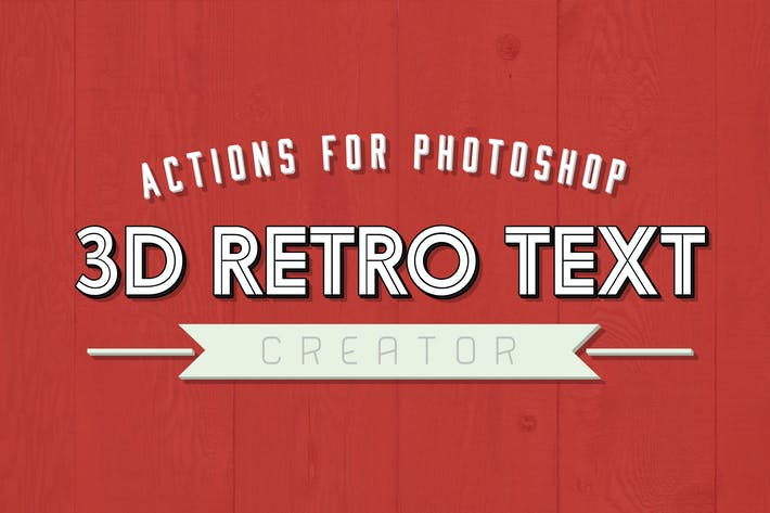 Thumbnail for 3D Retro Text Creator