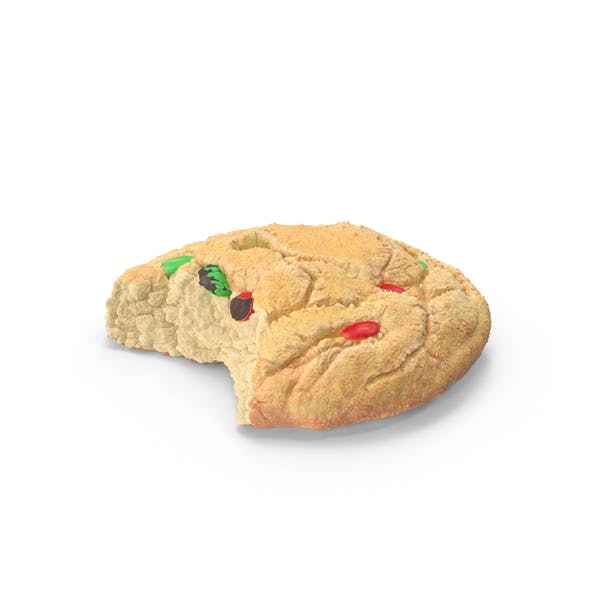 Thumbnail for Christmas M&M Cookie