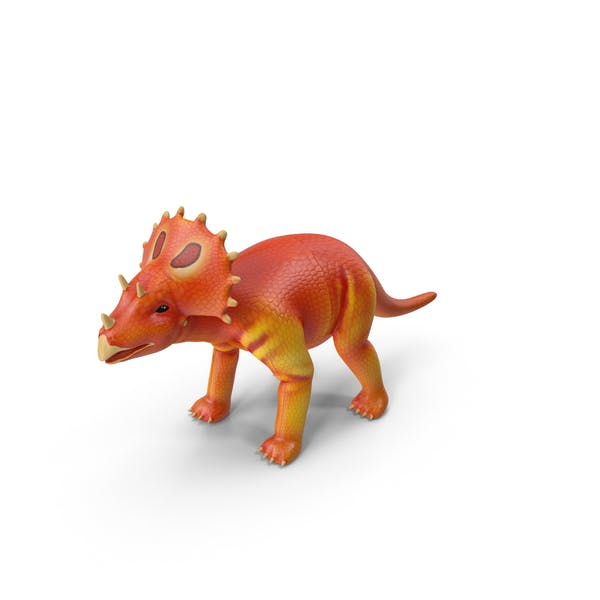 Cover Image for Toy Triceratops