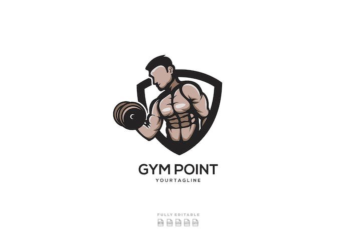 Thumbnail for Gym Fitness Logo