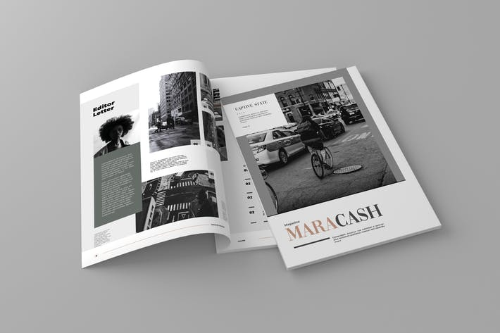 Thumbnail for Maracash - Magazine Template