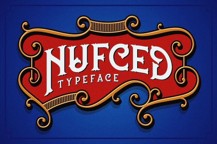 Cover Image For Nufced Typeface